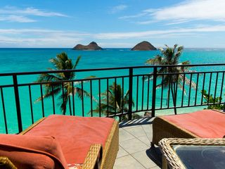 Lanikai house photo - View from the deck