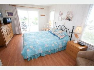 Virginia Beach house photo - Queen bedroom w/ deck - 2nd floor - early morning