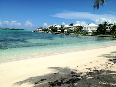 Great Exuma villa rental - PRIVATE BEACH BY POOL