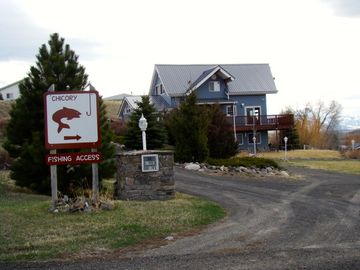 Emigrant house rental - River's Edge Lodge located right at the Chicory fishing access!