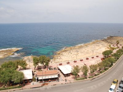 Sliema apartment rental - Sea View from balcony
