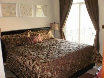 Master Bedroom with Balconey