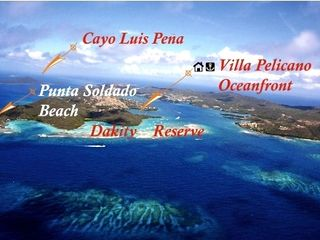 Culebra villa photo - Turquoise waters & sand bars surrounding Dakity Nature Reserve, kayaks provided!