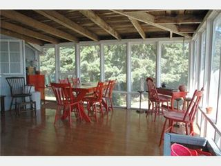 Stockton Springs cottage photo - Dining on the Screened Porch