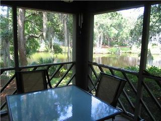 Kiawah Island house photo - Screen Porch