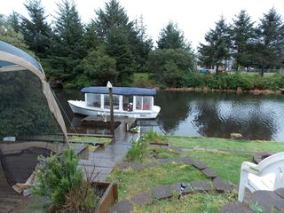 Ocean Shores house photo - Rainy day boat ride at Gibson's ( reservation only) .