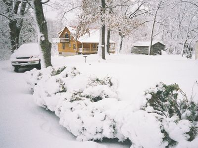 Farmville house rental - Pretty in the snow