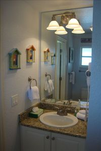 Newly remodeled in 2011. Full size tub/shower