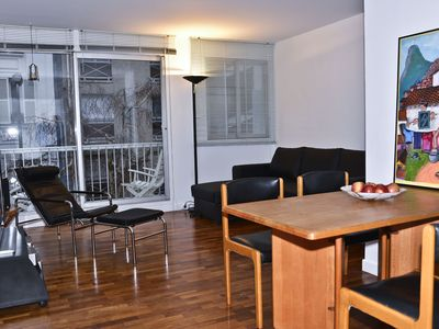 comfortable and bright 3 rooms with parking