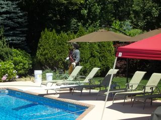 Hampton Bays house photo - Patio furniture...