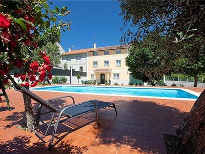 Cottage for 12 people, with swimming pool, in Pontevedra