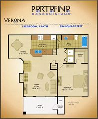 Ahwatukee condo photo - Floor plan
