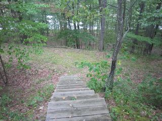 Basye chalet photo - Steps from over 300 feet of our property's shoreline on Lake Laura!