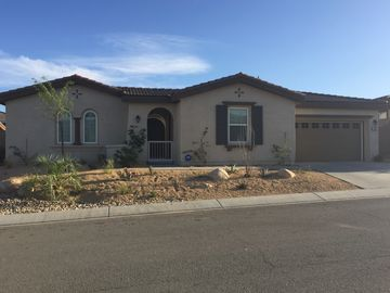 Thousand Palms house rental - Streetview in gated community