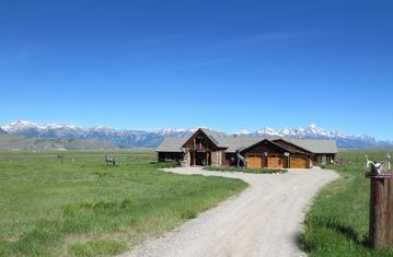 Jackson house rental - 'Possibly the best rental' in Jackson Hole-Jackson HOle Elk Refuge Ranch Home
