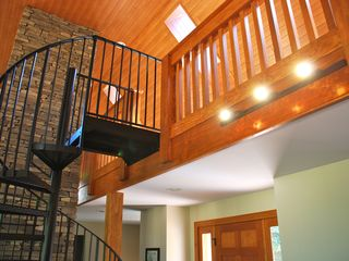 Grayling cottage photo - Spirall Staircase