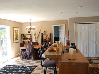 Sunrise Beach house photo - Enjoy entertaining in the eat in kitchen