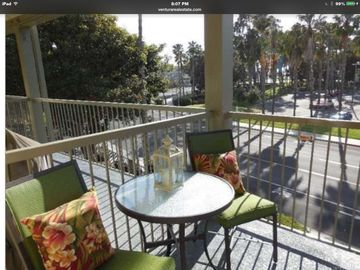 Port Hueneme condo rental - Peek-a-Boo View of beach and pier. View of park and creek.