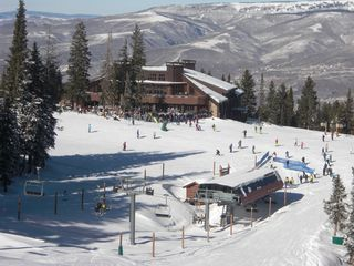 Arrowhead condo photo - Spruce Saddle [mid mountain restaurant] and lift to the top of Beaver Creek.