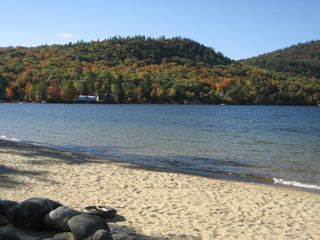 Newfound Lake chalet photo - Wellington State Park Beach