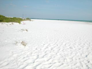 Siesta Key cottage photo - White Sand Across the Street
