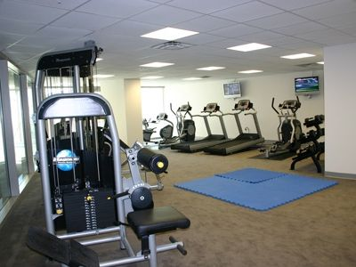Biloxi condo rental - Full Gym with Sauna