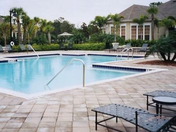 Inviting Pool Area Across from Unit