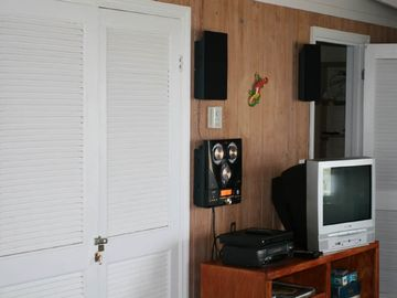 Entertainment Area - Direct TV, CD / DVD Player, Viedio Player, CD's and Tapes