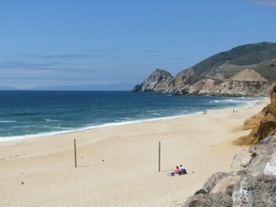 Montara State Beach - spacious and seldom crowded