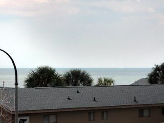 View of ocean from front Porch