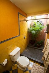 Tamarindo house photo - Open air shower in the Mirador room