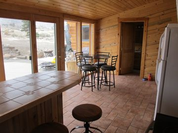 Kitchen main Lodge