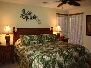 Sanibel Island condo photo - Master bedroom renovated with new furniture for the 2012 season