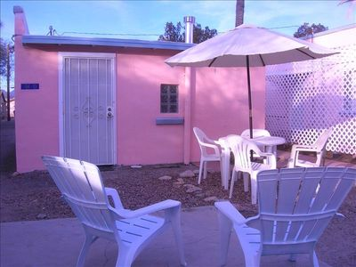 Relaxing, Sun-Drenched Patio Area! Secluded Behind Lovely Cottage Courtyard!