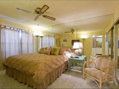 "Bedroom with King Bed, 32"" LCD TV and DVD Player"