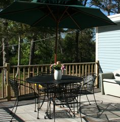 Brewster cottage photo - Large, sunny deck