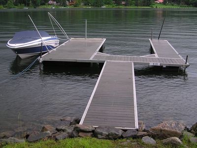 Lakefront: Private type A dock