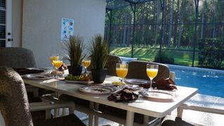 Calabay Parc villa photo - Enjoy breakfast on your private lanai