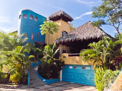 Casa Exotica:  an Explosion of Color on a Hill Top with fresh breezes and Vistas