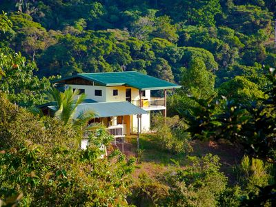 House is nestled in the Rainforest Preserve 5 min   drive to beach or restaurant