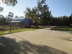 Palatka house photo - Full Basketball Court/RV Hook-Up/Great for skating,bikes, scooters & more..