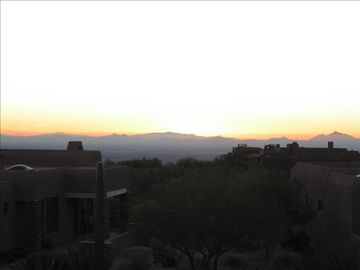 View of Silver Bell and Santa Rosa Mountains