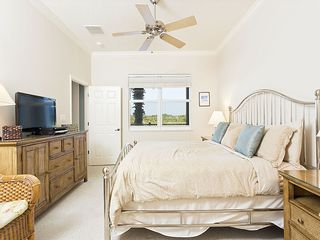 Ormond Beach condo photo - Our master bedroom with HDTV, views and private bathroom