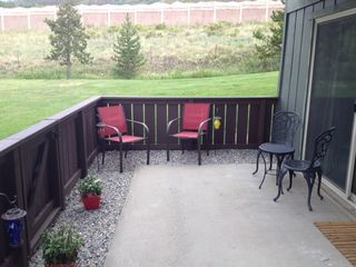 Dillon condo photo - Your private patio to relax in.