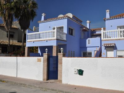 Benalmadena apartment rental - The outside of the 6 apartments