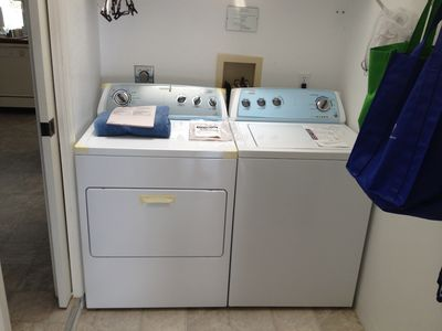 Brand new Whirlpool Washer & Dryer installed August 2012!