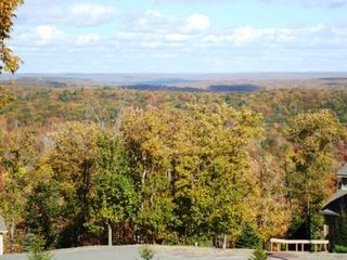 Tannersville townhome photo - View of Delaware Valley from our deck