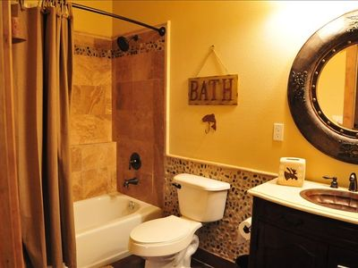 SECOND BATH ROOM ON LOWER LEVEL, NEXT TO THIRD BEDROOM