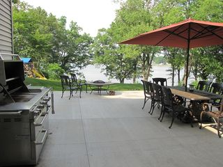 Cassopolis house photo - Large Patio with plenty of room for making memories.