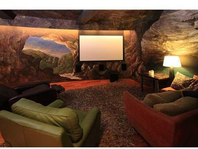 Full Home Theater in the Cave